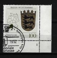 BUND - Mi-Nr. 1586 Formnummer 1 - Gestempelt - BRD