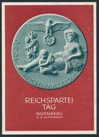 90552) Dt. Reich 1939, Propaganda-Parteitage, GA P 282 Gelaufen Von SEBNITZ 31.8.39 Nach Dresden, Gute Erhaltung - Allemagne