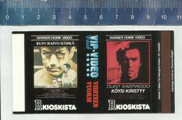 FILM AFFICHE  - TIGHTROPE - CLINT EASTWOOD Finnish Matchbox Skillet - Boites D'allumettes - Etiquettes