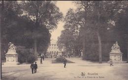 BELGIQUE---BRUXELLES--le Parc Et Le Palais De La Nation--voir  2 Scans - Panoramische Zichten, Meerdere Zichten
