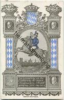 Bayern - Einführung Der Neuen Briefmarken 1. August 1916 - Oskar Beringer - Verlag P. M. F. J. H. M. - Stamps (pictures)