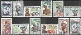 Dahomey  1963   Sc#160-71  Peoples Set   MLH   2016 Scott Value $12.85 - Benin - Dahomey (1960-...)