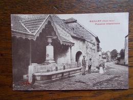 "CARTE POSTALE ANCIENNE DE MAILLEY."" Fontaine Intermitente"". Animée. - Other Municipalities"