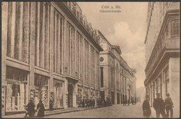 Gürzenichstraße, Cöln Am Rhein, 1919 - AK - Field Post Office - Koeln