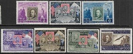 San Marino    1947   Stamps Centennial Set Of 7  MH    2016 Scott Value $14.85 - San Marino