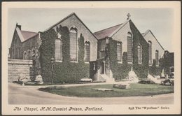 The Chapel, HM Convict Prison, Portland, Dorset, C.1905-10 - Wyndham Series Postcard - Other