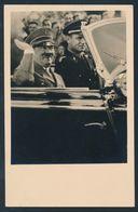 """90556) Dt. Reich 1937, Propaganda Porträt Slw-Karte """"Der Führer Grüßt Aus Dem Offenen Wagen"""", Tadellos, SST Parteitag - Allemagne"""