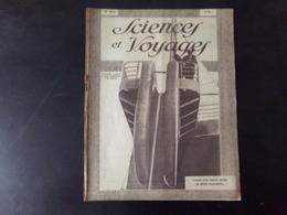 """Revue """" Sciences Et Voyages """" N° 492, 1929,"""" L'avant D'un Bateau Poseur De Câbles Sous-marins """" - 1900 - 1949"""