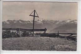 MONTANA-VERMALA - VUE SUR LES ALPES VALAISANNES - 1949 - VS Valais