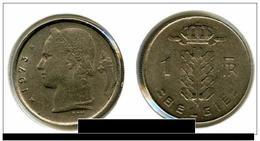 PIECE BELGIQUE DE 1 FR 1973 - 1951-1993: Baudouin I