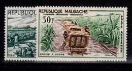Madagascar - Poste Aerienne YV PA 78 & 79 N** Tabac Et Canne à Sucre - Madagascar (1960-...)