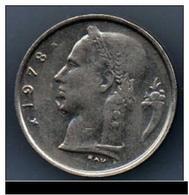 PIECE BELGIQUE DE 1 FR 1978 - 1951-1993: Baudouin I