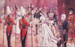 AS04 Royalty - His Majesty's Court - Artist Signed - Royal Families