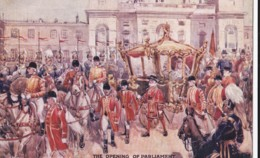 AS04 Royalty - The Opening Of Parliament - Artist Signed - Royal Families