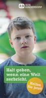 BRD München SOS Kinderdorf Junge Halt Geben, Wenn Eine Welt Zerbricht - Livres, BD, Revues