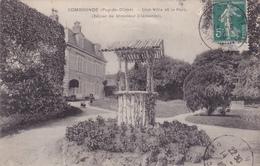 CPA 63 @ COMBRONDE @ Une Villa Et Le Parc En 1910 (Séjour De Mr Clémentel) - Combronde