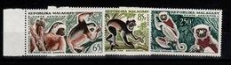 Madagascar - Poste Aerienne YV PA 84 à 86 N** Lémuriens - Madagascar (1960-...)