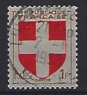 France 1949  Armoiries: Savoie (o) Yvert 836 - France