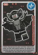 CARTE AUCHAN LEGO CREE TON MONDE LA CHAUVE SOURIS VAMPIRE N°060 - Autres Collections