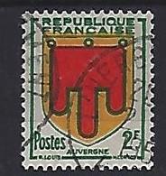 France 1949  Armoiries: Auvergne (o) Yvert 837 - France