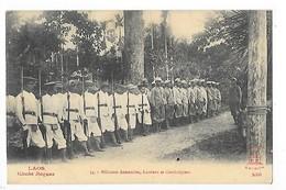 LAOS -  Miliciens Annamites, Laotiens Et Cambodgiens   -   L 1 - Laos