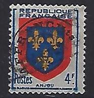 France 1949  Armoiries: Anjou (o) Yvert 838 - France