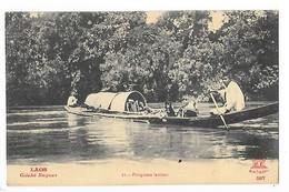 LAOS -  Piroguiers Laotiens   -   L 1 - Laos