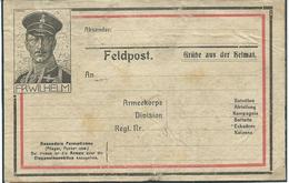 Kaart Feldpost Ongebruikt - WW I