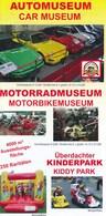 Österreich Villach Auto Motorrad Museum Faltblatt 5 Seiten - KFZ