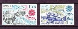 France ND ** N° 2046/47 Europa - Non Dentelés
