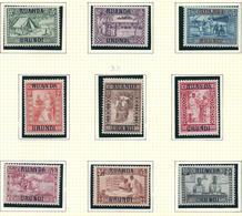 81/89 O.C. X Avec Charnière / Met Plakker 9 V./W. O.C. 75,00€ (no 82 XX Neuf/postfris) - Ruanda