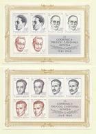 YOUGOSLAVIE  ( EU - 292 )  1968  N° YVERT ET TELLIER  N° 13/14  N** - Blocs-feuillets