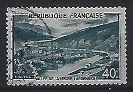 France 1949  Vallée De La Meuse (o) Yvert 842A - France