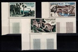 Madagascar - YV PA 75 / 76 / 77 N** Luxe Complete Cote 42,25++ Euros - Madagascar (1889-1960)
