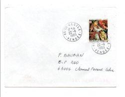 OBLITERATION MANUELLE DE SAINTE CECILE VENDEE 1989 - Marcophilie (Lettres)