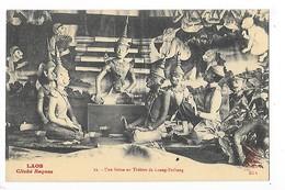 LAOS -  Une Scène Au Théâtre De Luang-Prabang    -   L 1 - Laos