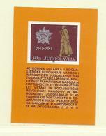 YOUGOSLAVIE  ( EU - 297 )  1981  N° YVERT ET TELLIER  N° 19  N** - Blocs-feuillets