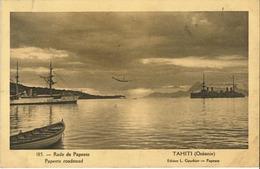 Polynésie Française - Océanie - Tahiti - Rade De Papeete (Edition Gauthier) Rare - Polynésie Française