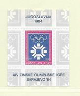 YOUGOSLAVIE  ( EU - 299 )  1983  N° YVERT ET TELLIER  N° 21  N** - Blocs-feuillets