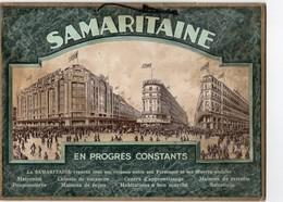 PLAQUE PUBLICITAIRE EN CARTON  Samaritaine - Plaques En Carton