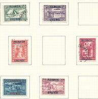 81 - 83 - 84 - 85 - 86 - 87 USED / Oblitéré / Gestempeld 6 V./W.  O.C. 37,00€ - Ruanda-Urundi