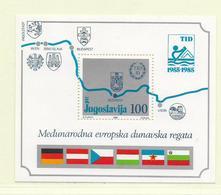 YOUGOSLAVIE  ( EU - 301 )  1985  N° YVERT ET TELLIER  N° 25  N** - Blocs-feuillets
