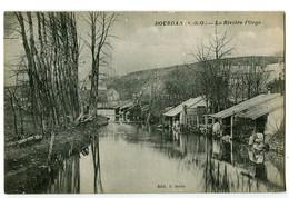 CPA 91 Essonne Dourdan La Rivière L'Orge - Dourdan