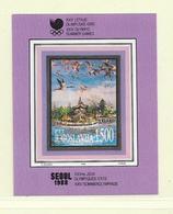 YOUGOSLAVIE  ( EU - 307 )  1988  N° YVERT ET TELLIER  N° 31   N** - Blocs-feuillets