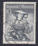 Austria 1950 Costumes, Value 10 S, Used (o) Michel 926 - 1945-.... 2ème République