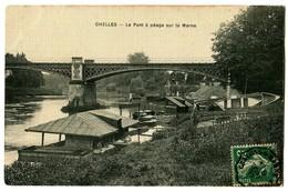 CPA 77 Seine Et Marne Chelles Le Pont à Péage Sur Le Marne - Chelles
