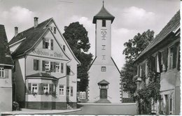 005824  Höhenluftkurort Wart - Partie Am Kirchenplatz  1961 - Altensteig