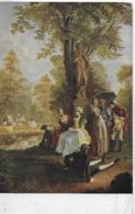 AK 0074  Chodowiecki , D. - Gesellschaft Im Tiergarten / Künstlerkarte Um 1910-20 - Malerei & Gemälde