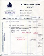 PARIS.LANVIN-PARFUM 3 RUE DE TILSITT. - Chemist's (drugstore) & Perfumery