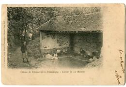 CPA 94 Val De Marne Côteau De Chennevières-Champigny Lavoir De La Mocane Animé Lavandières - Chennevieres Sur Marne